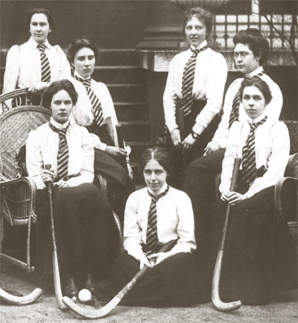 Westfield College Hockey Team, 1902-1903.