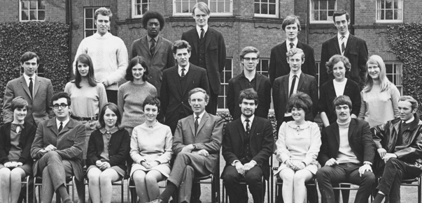 Westfield College Student Union Executive 1968.